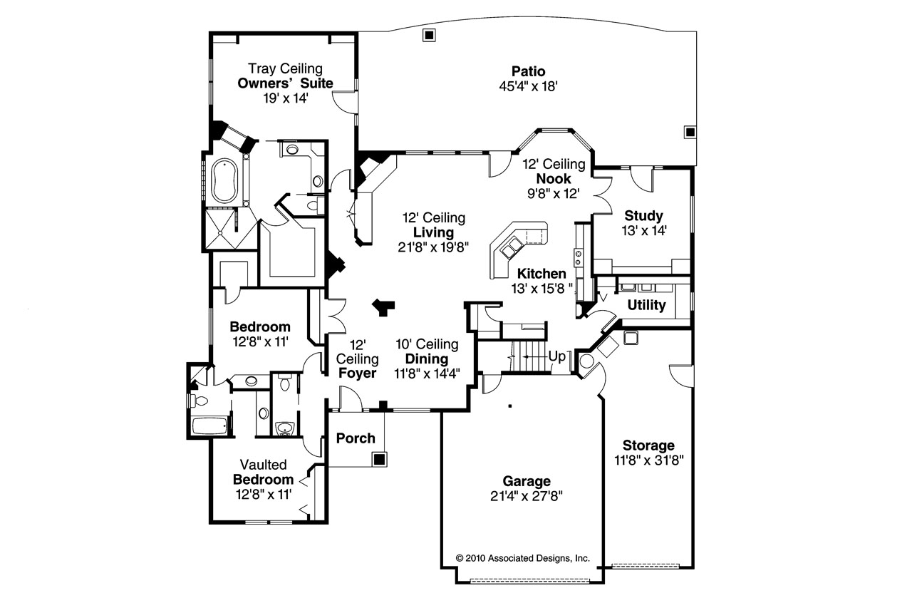 20 Spectacular Ranch House Plans With Loft House Plans