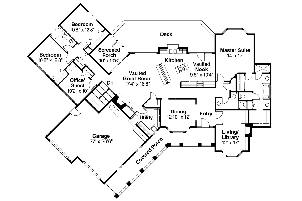 Ranch house plans saginaw 10 251 associated designs for Ranch floor plans
