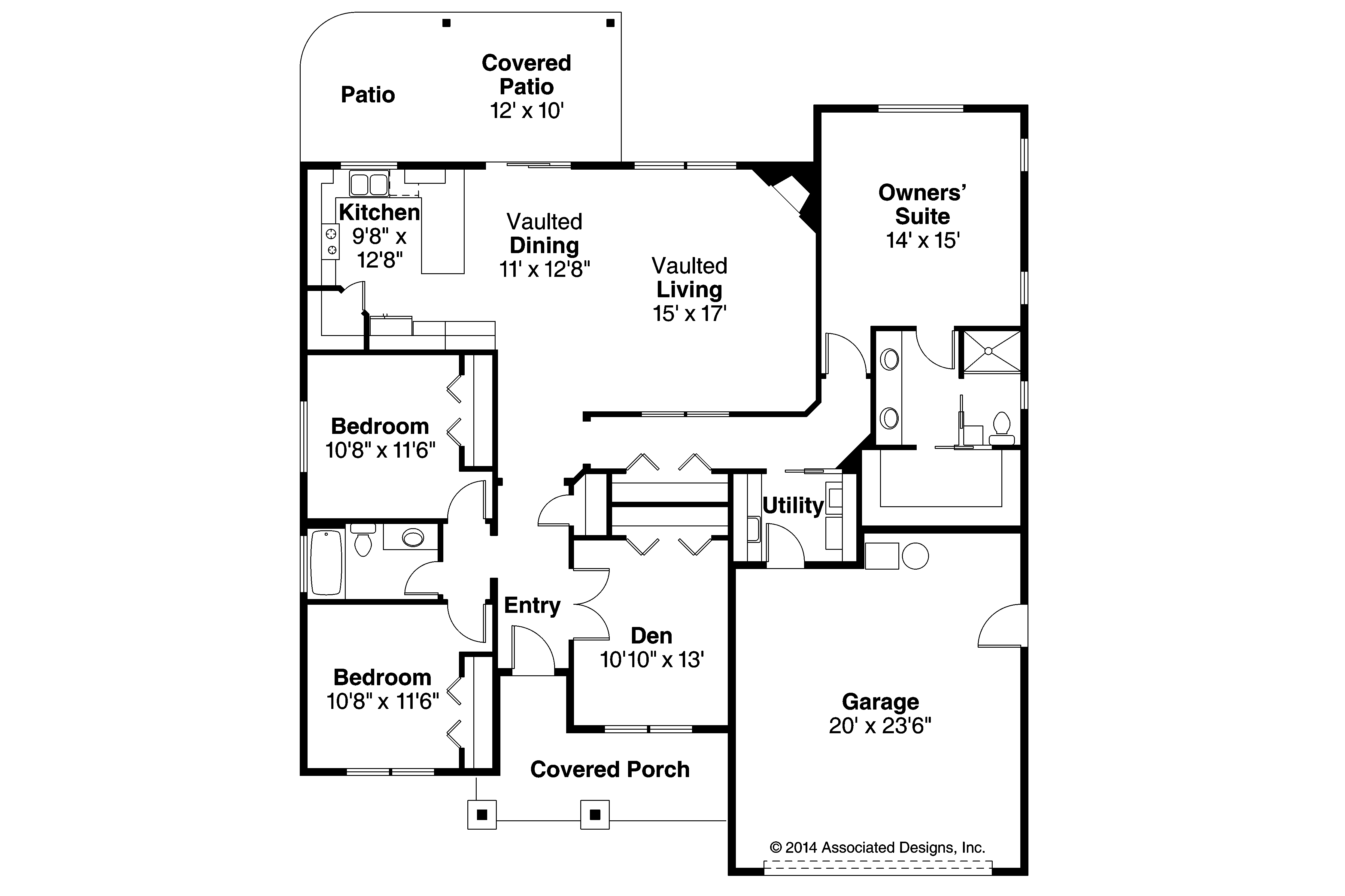 Shingle style house plans glenhaven 30 927 associated for Home planners house plans