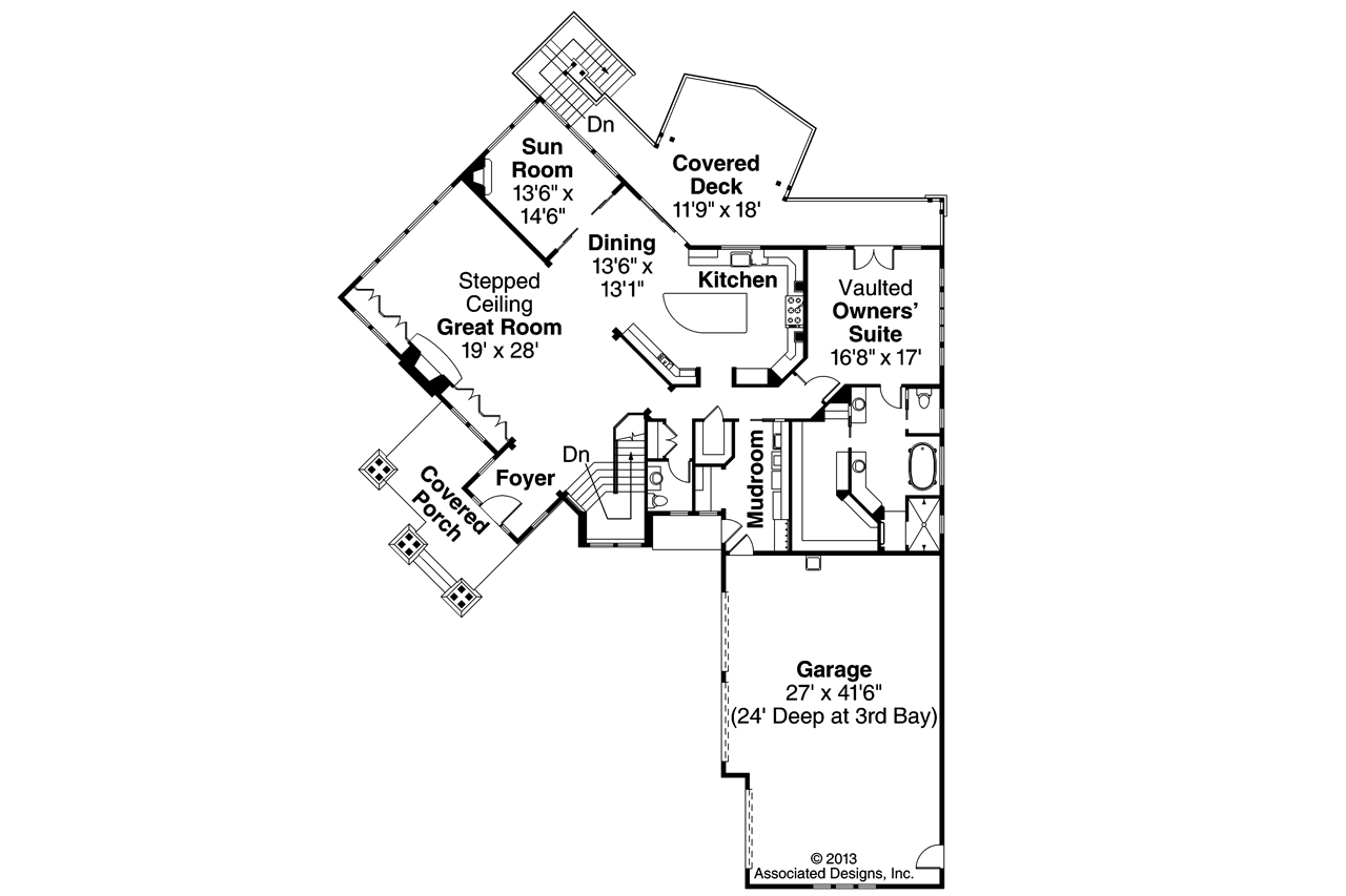 Shingle Style House Plans Northbrook 30 898 Associated