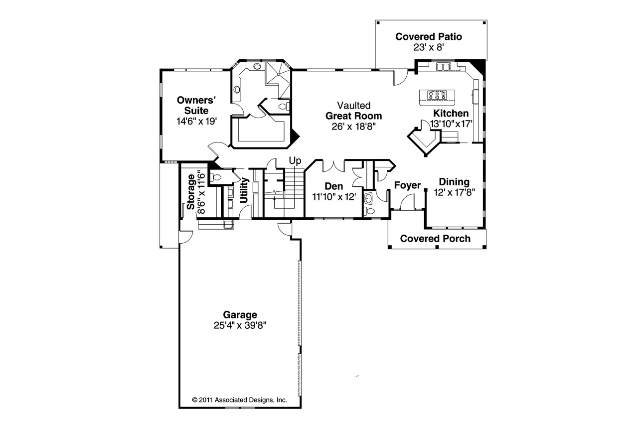 Southwest house plans casselman 30 432 associated designs for Southwest homes floor plans