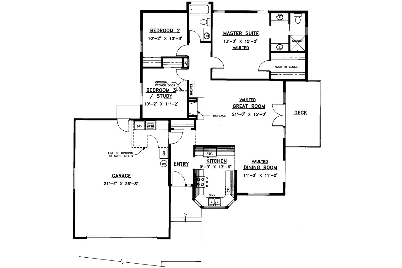 Traditional House Plans Hampton 10 028 Associated Designs