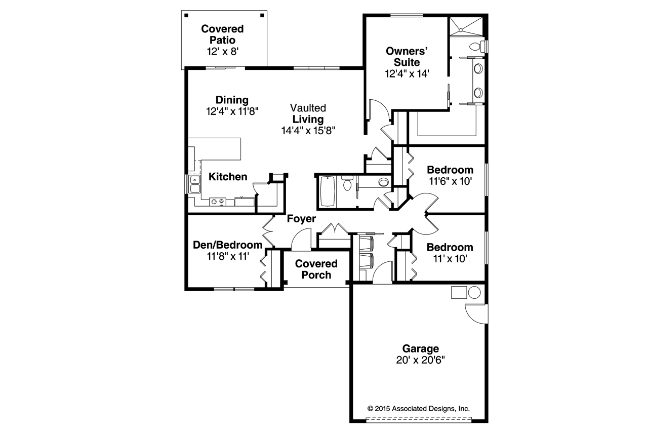 Traditional house plans sterling 30 990 associated designs for Sterling plan