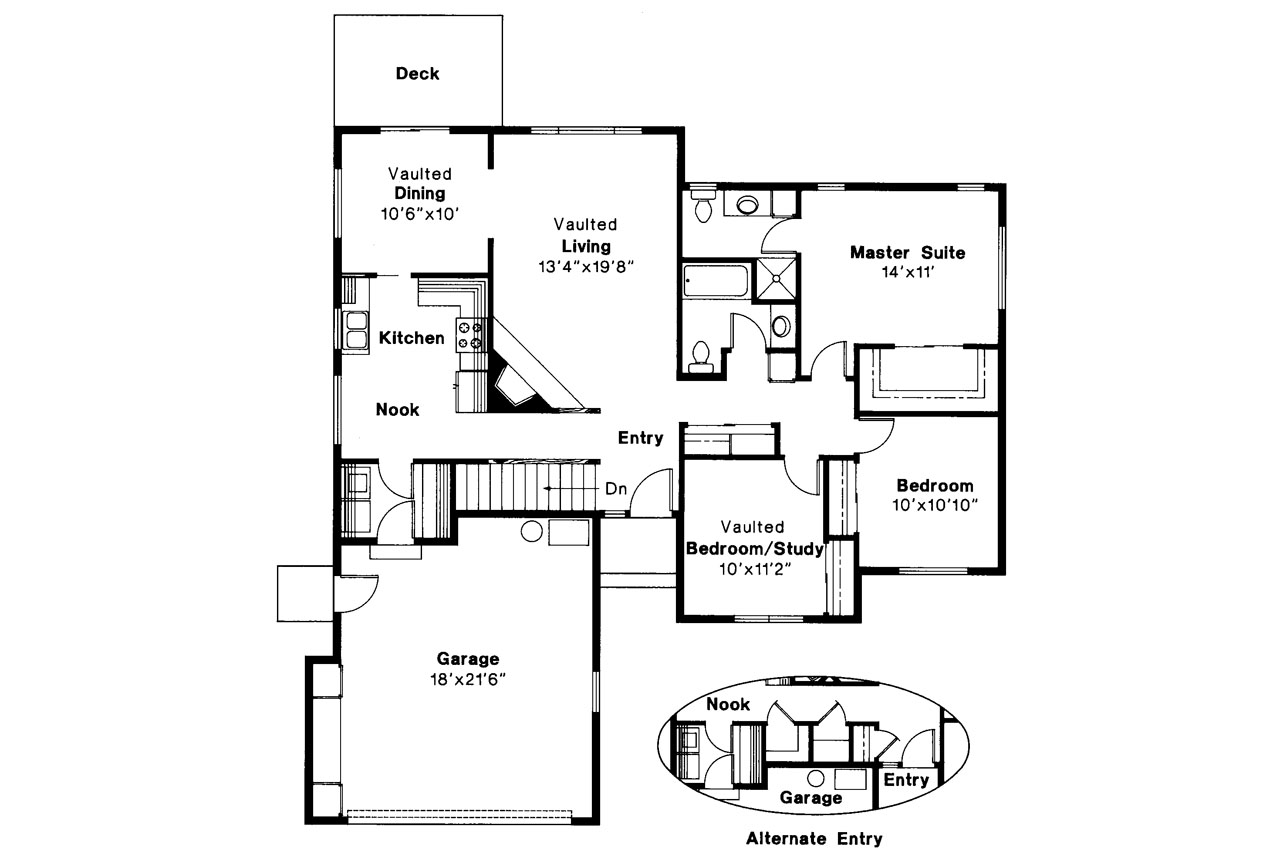 Traditional house plans ventura 10 063 associated designs for Traditional house plans