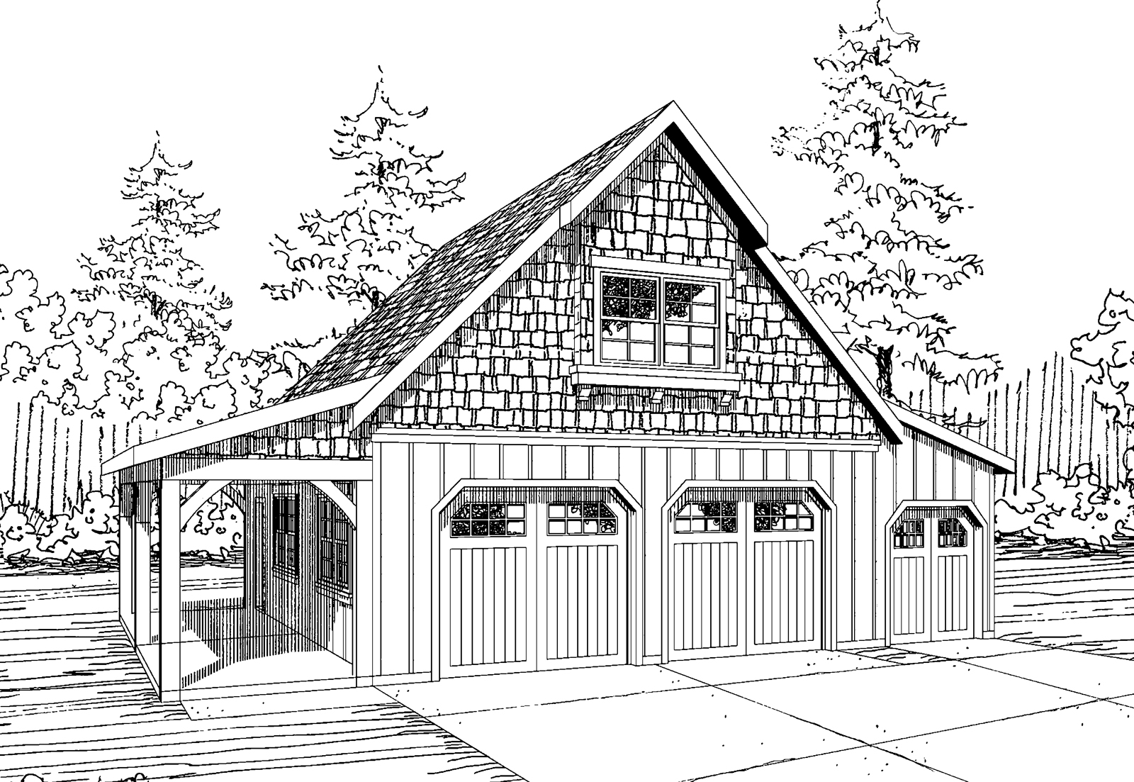 rustic garage plans two car garage with attic truss roof plan delightful 2 car garage apartment plans 6 20100artjpg