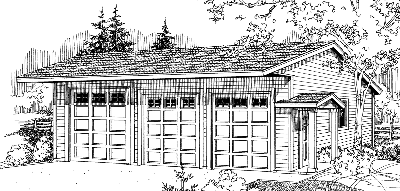 Awesome 13 images 6 car garage plans home building plans 6 car garage plans