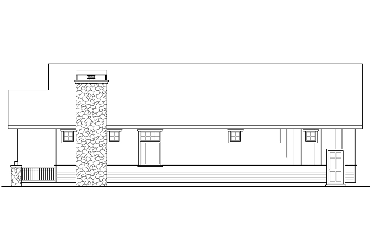 Plan And Elevation Of Car : Cottage house plans garage w living associated