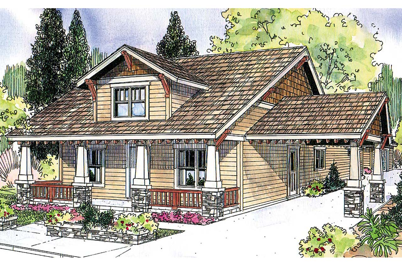Bungalow house plans markham 30 575 associated designs for Elevation house plans