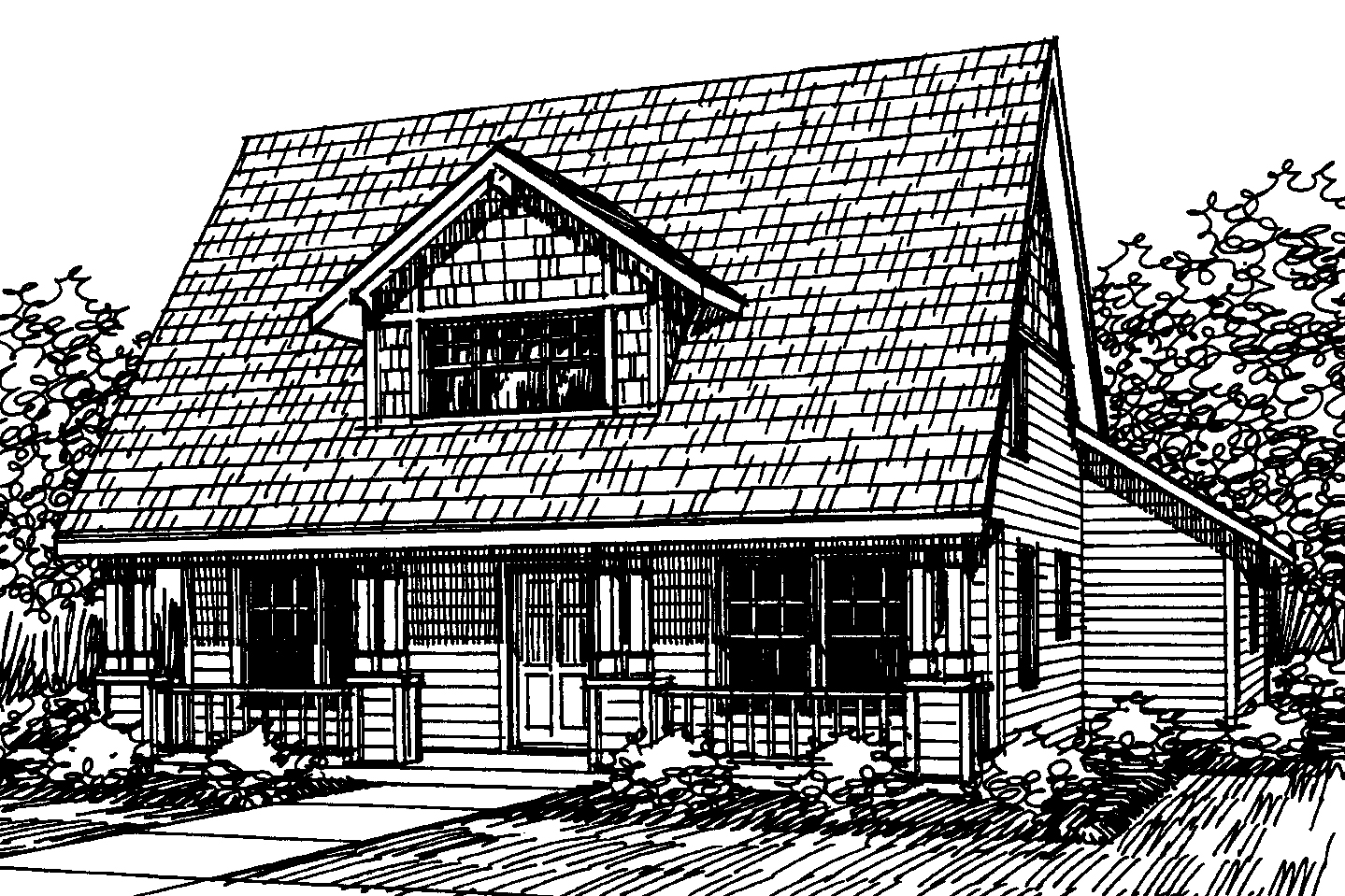 Bungalow house plans richardson 30 102 associated designs for Bungalow plans and elevations