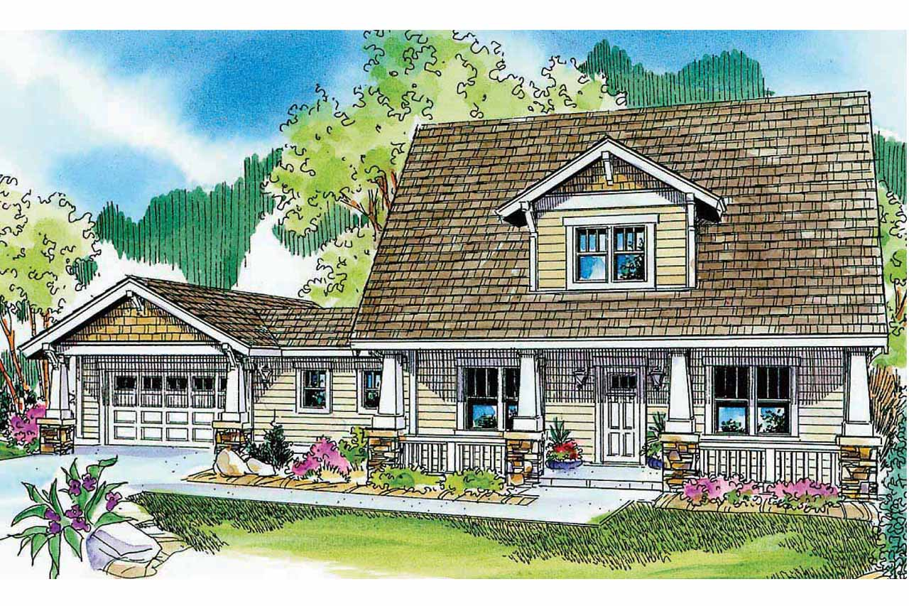 Bungalow House Plans Wisteria 30 655 Associated Designs