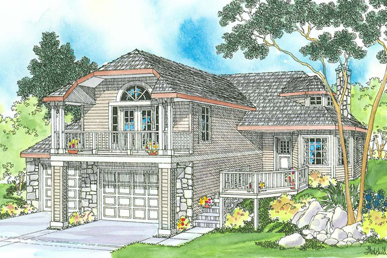 Cape cod house plans with attached garage for Simple cape cod house plans