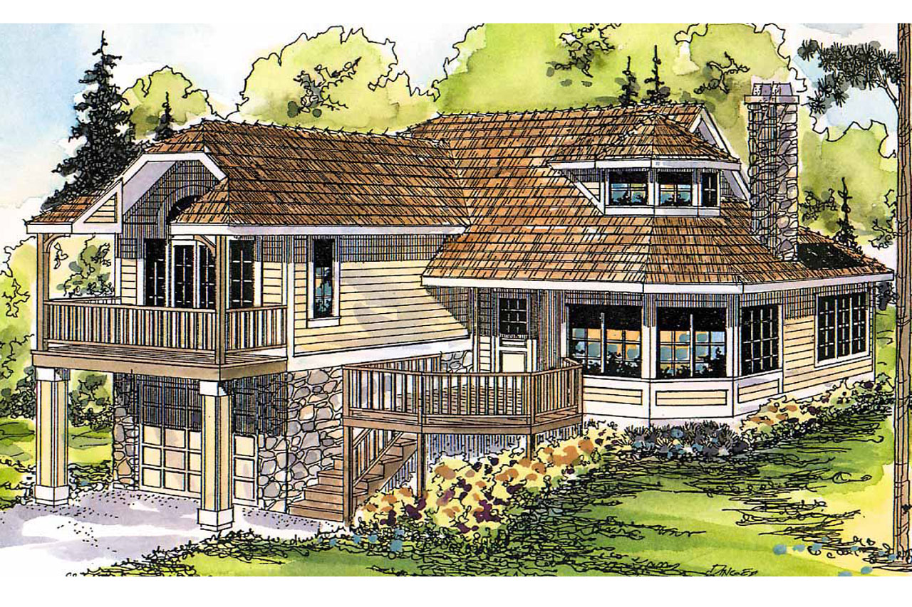 Cape Cod Style Beach House Plans