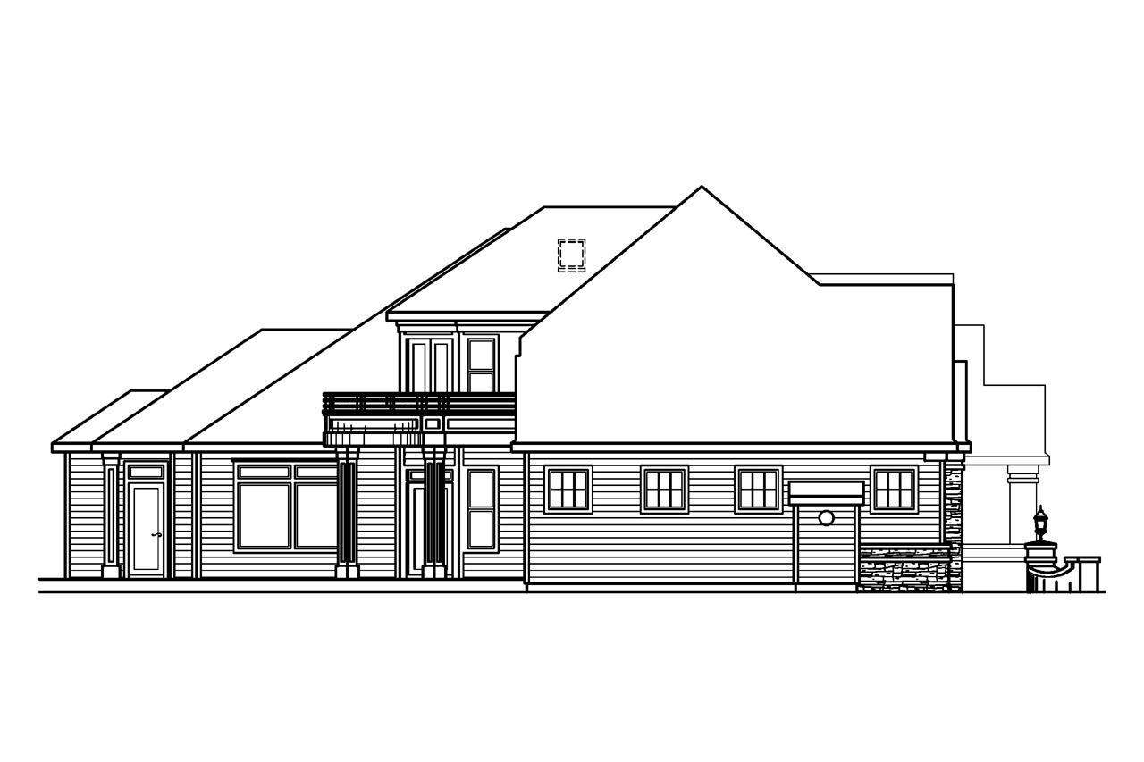 European house plans stonehaven 30 465 associated designs for Classic house elevation