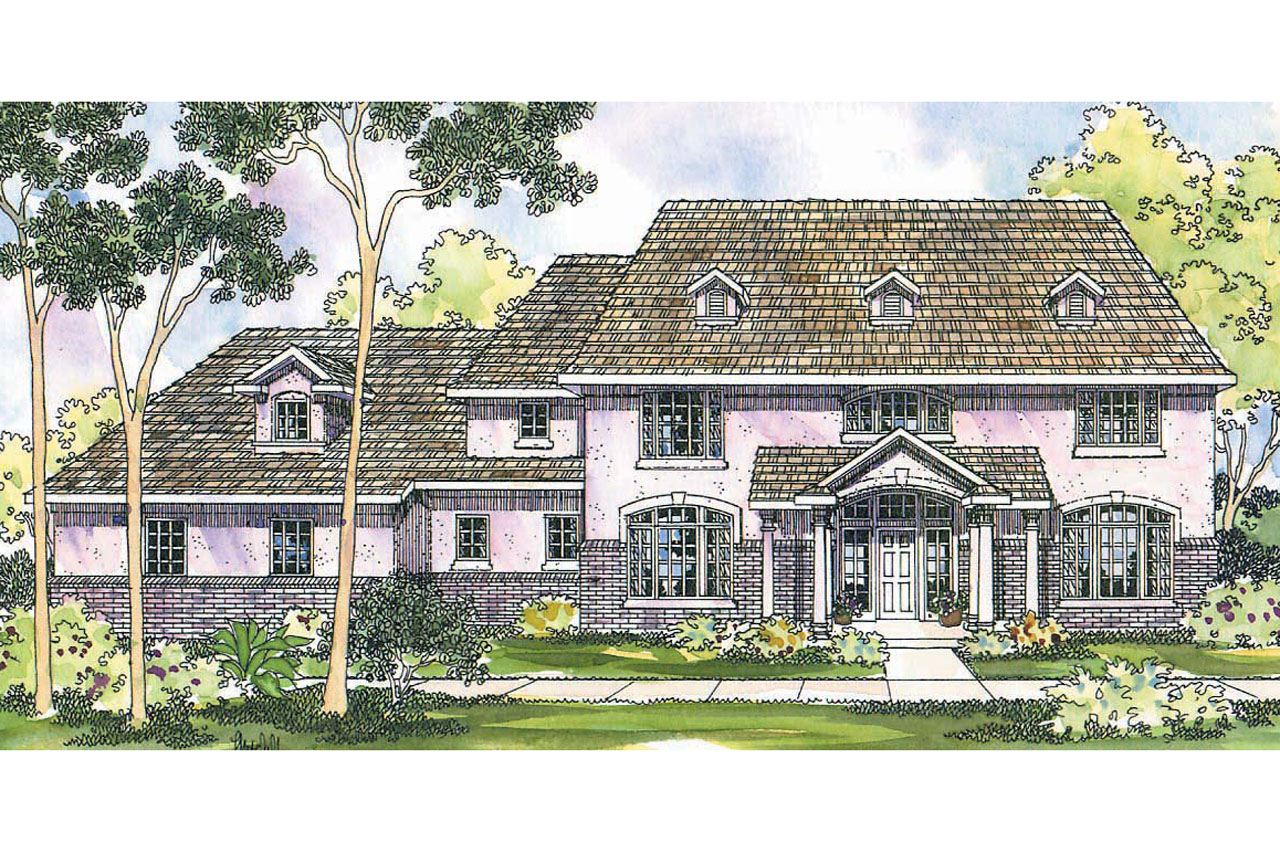 Colonial House Plans Roxbury 30 187 Associated Designs