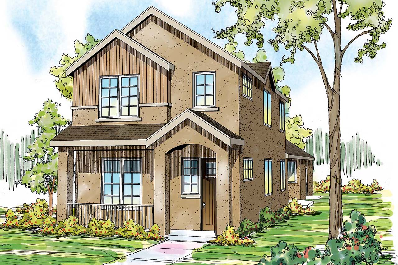 Townhome front ideas joy studio design gallery best design for Town home plans