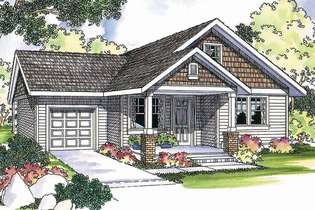 Cottage house plans danville 30 284 associated designs for Cottage house plans with garage