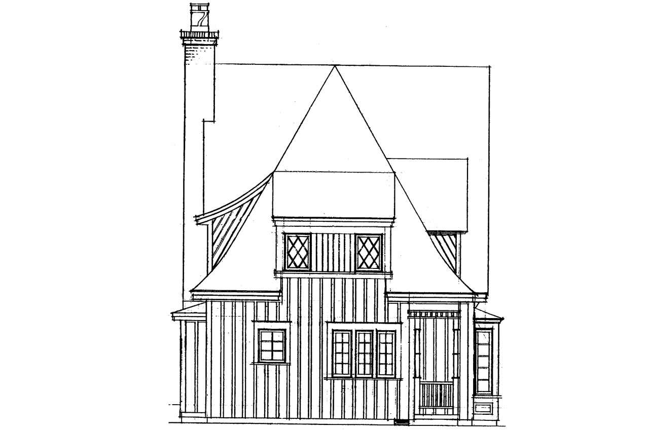 Victorian Cottage Plans Victorian House Plans Topeka 42 012 Associated Designs