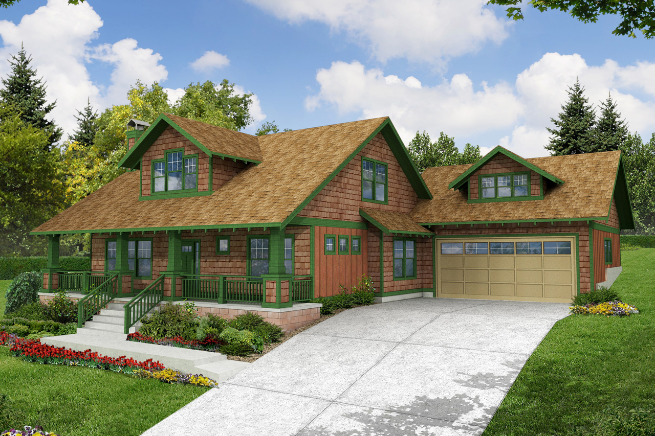 Craftsman House Plans Carrington 30 360 Associated Designs