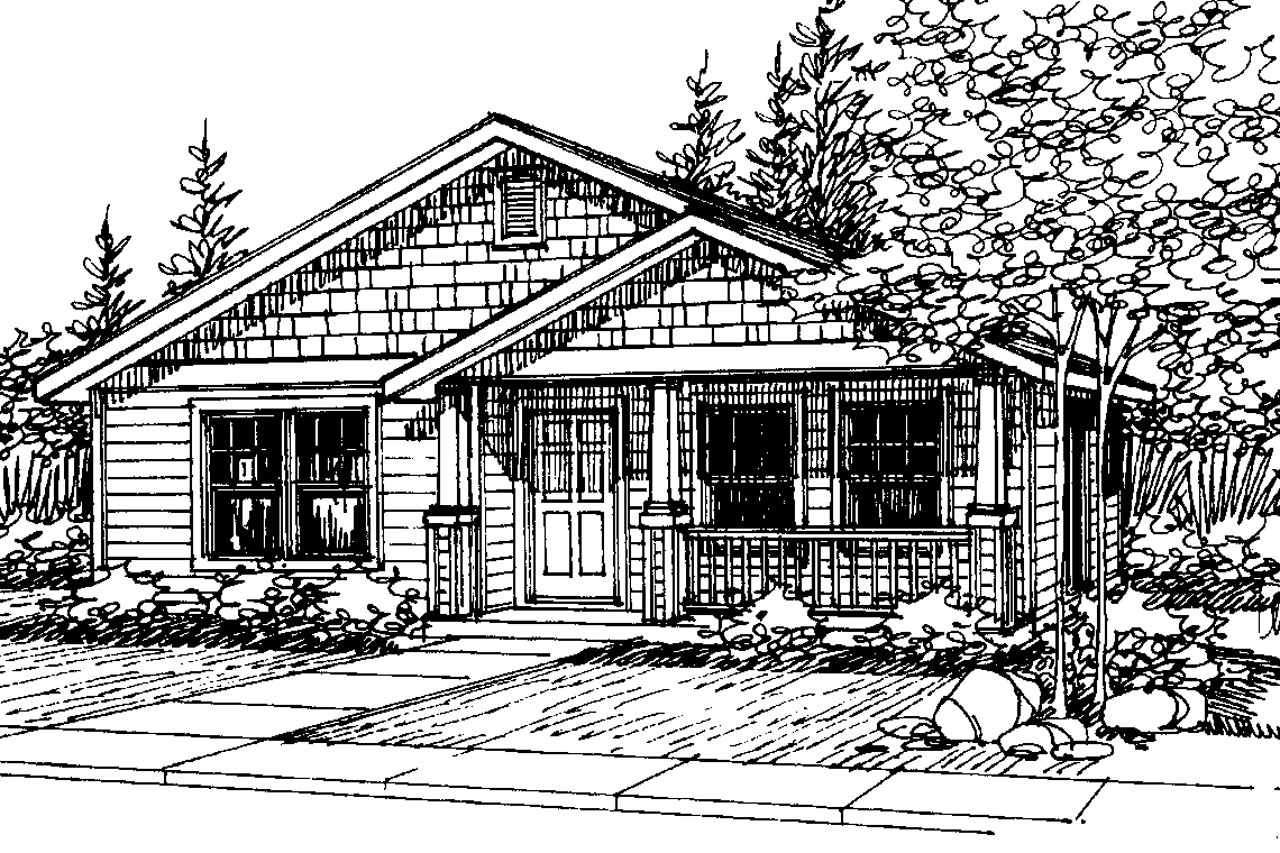 Craftsman House Plans Cleveland 30 105 Associated Designs