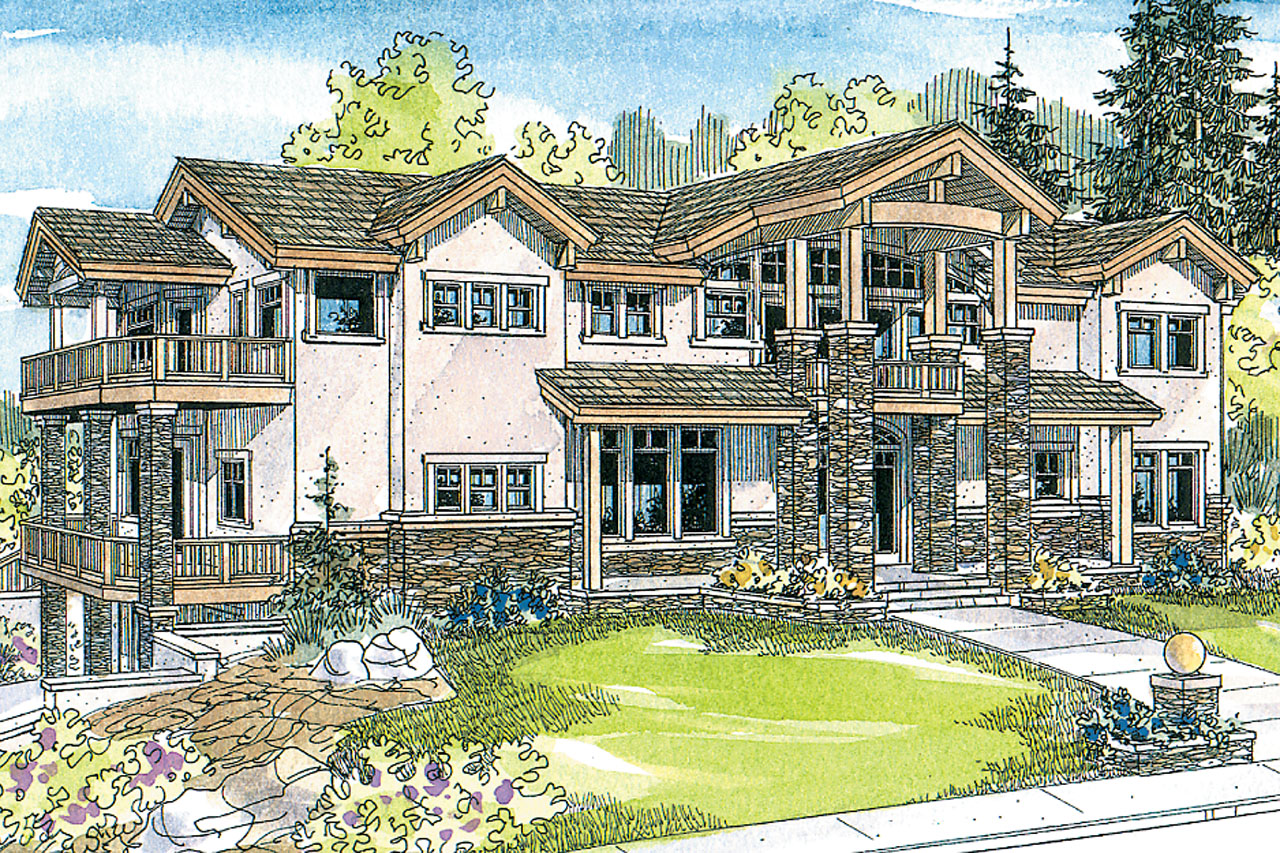 Front Elevation European : European house plans brynwood associated designs