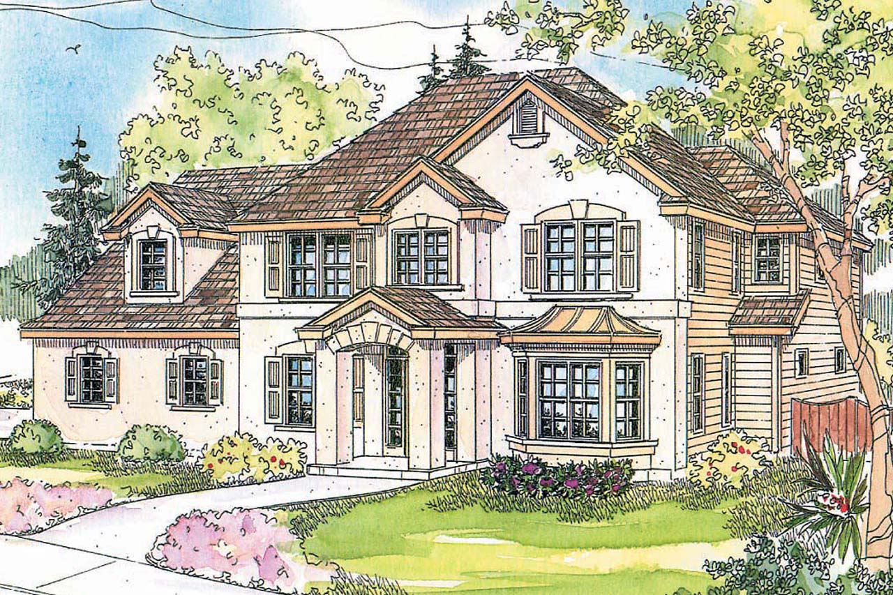 European style house plans for European home designs
