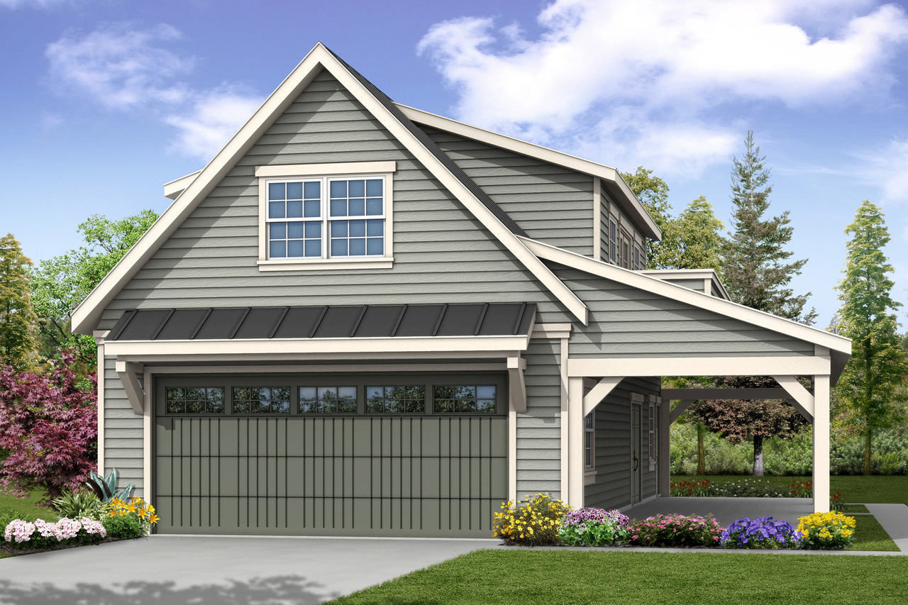 Country house plans garage w loft 20 157 associated for Garage layout planner