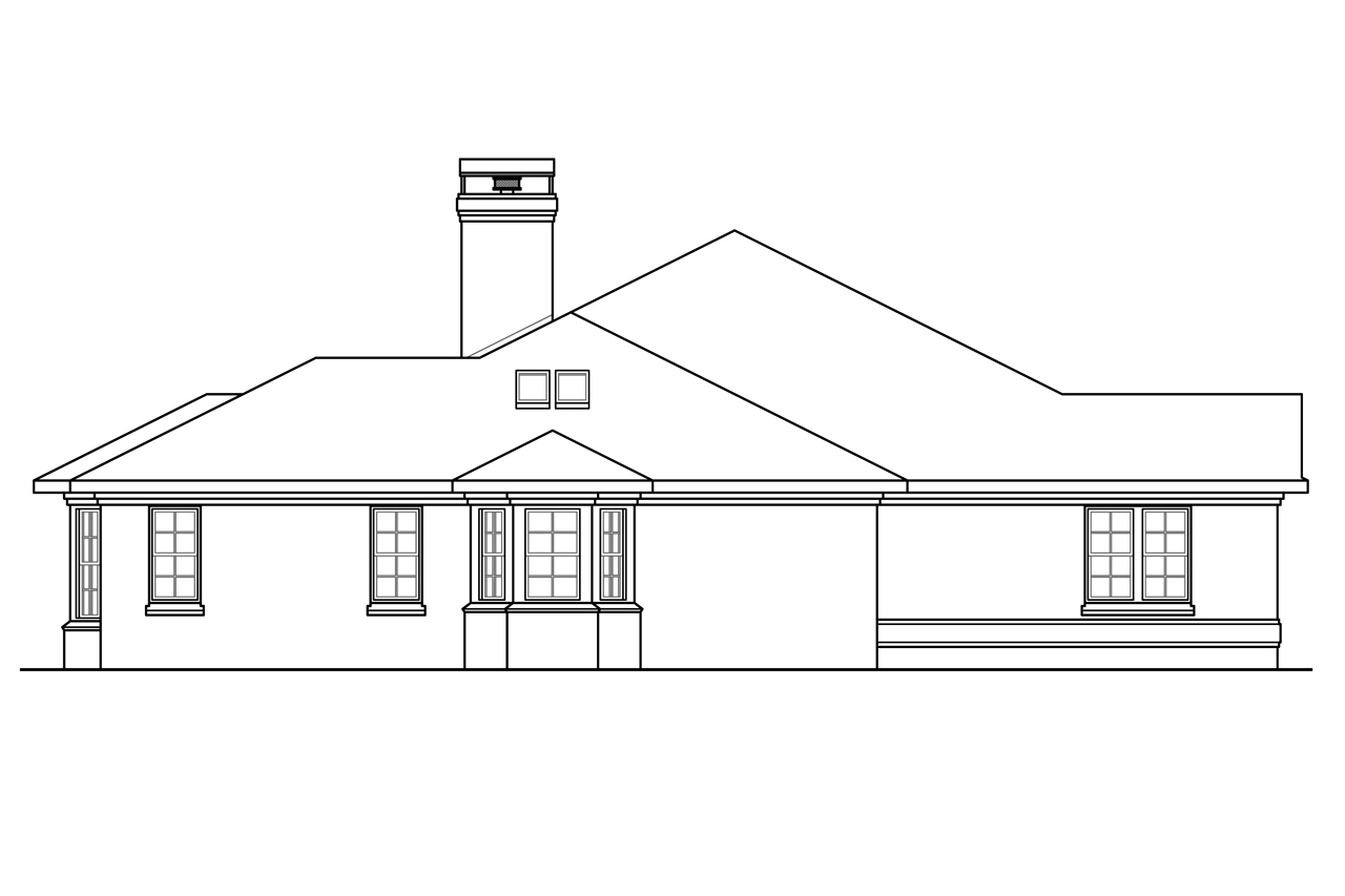 Classic house plans huntsville 30 463 associated designs for Classic house elevation