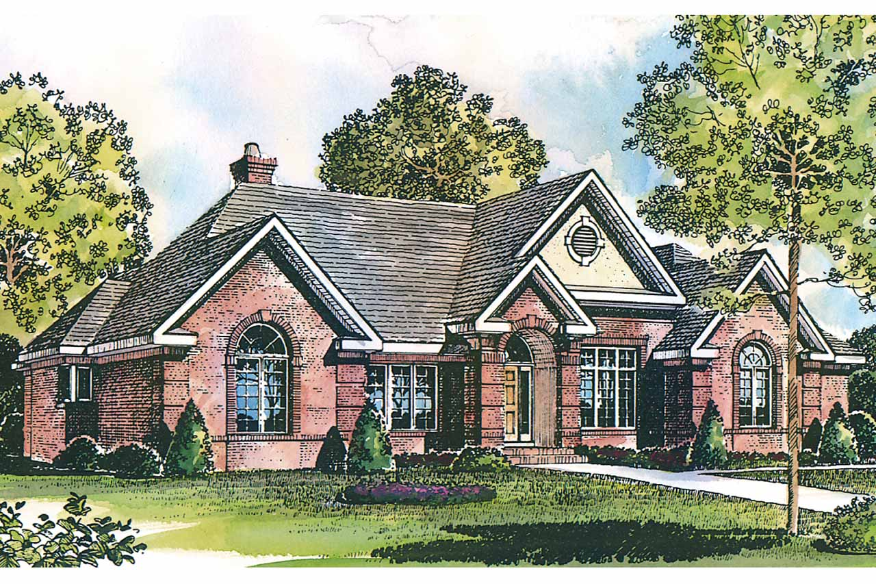 Georgian House Plans Ingraham 42 016 Associated Designs