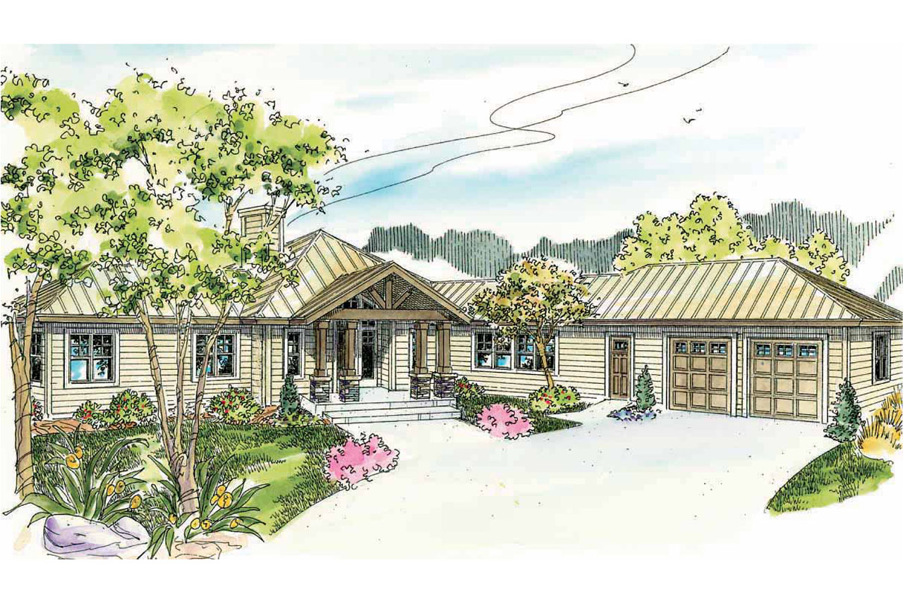 Lodge style house plans willow creek 10 542 associated for Lodge style house plans