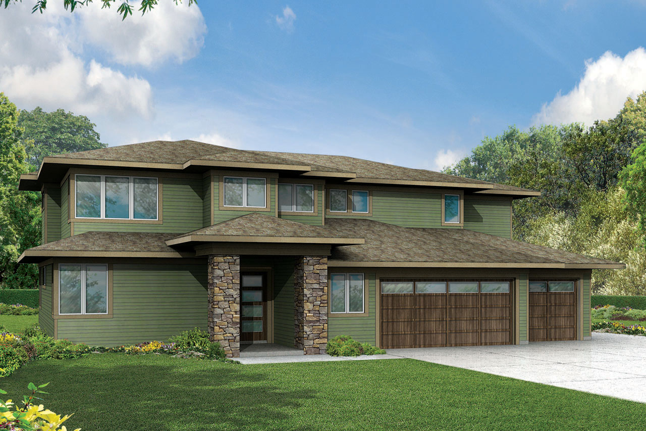 prairie style house plans brookhill 30 963 associated architects anonymous prairie style home