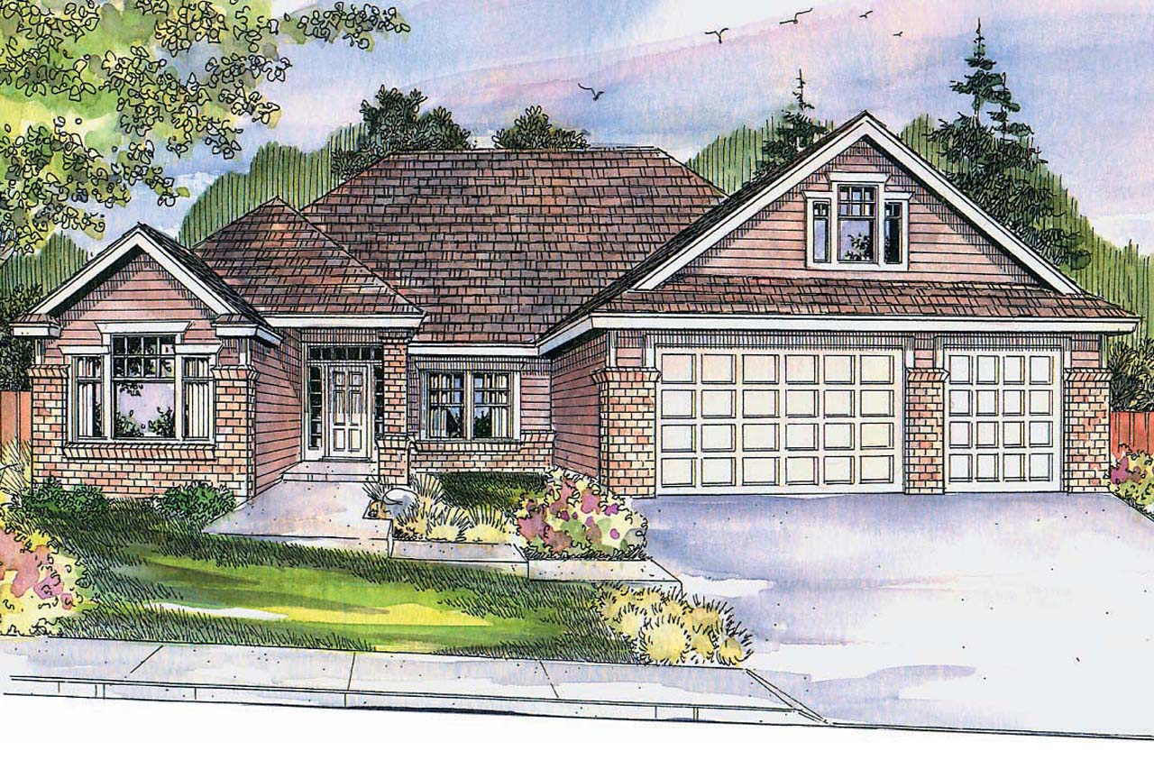 Prairie style house plans cheyenne 30 643 associated for Prairie style house plans