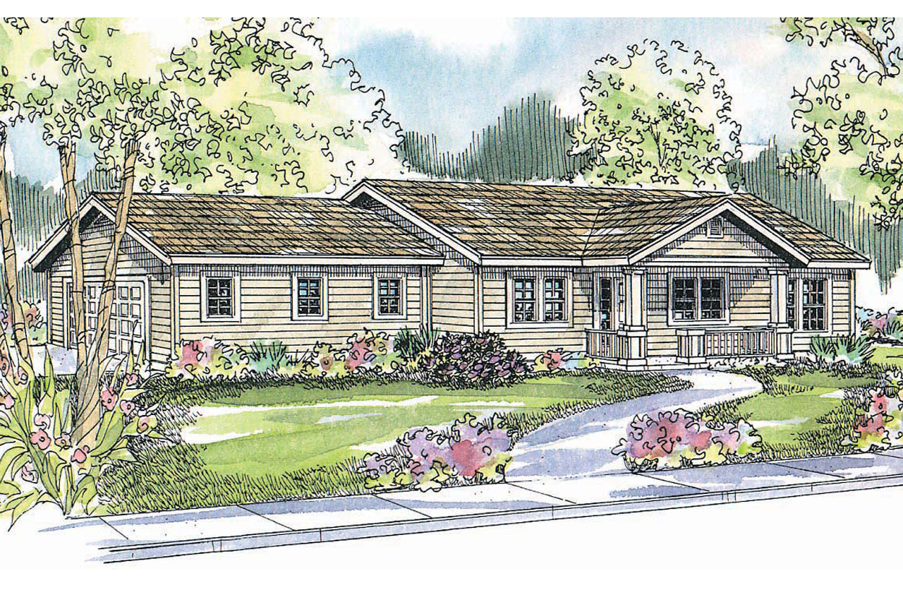 Ranch House Plans Kettering 30 441 Associated Designs