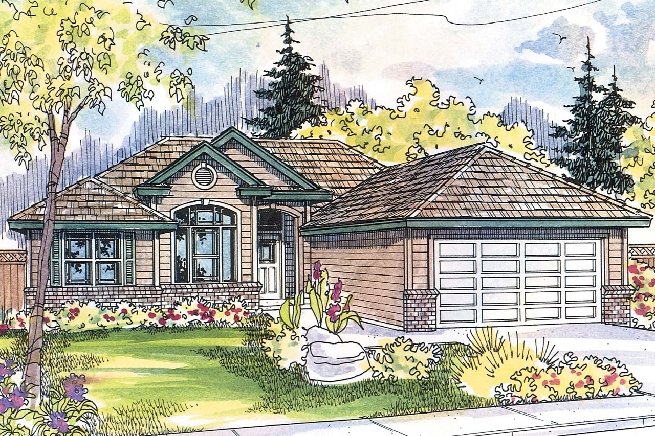 Ranch house plans tyndale 30 337 associated designs for Ranch house elevations