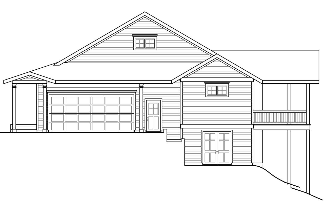 Sloping lot house plans for House plans for sloped land