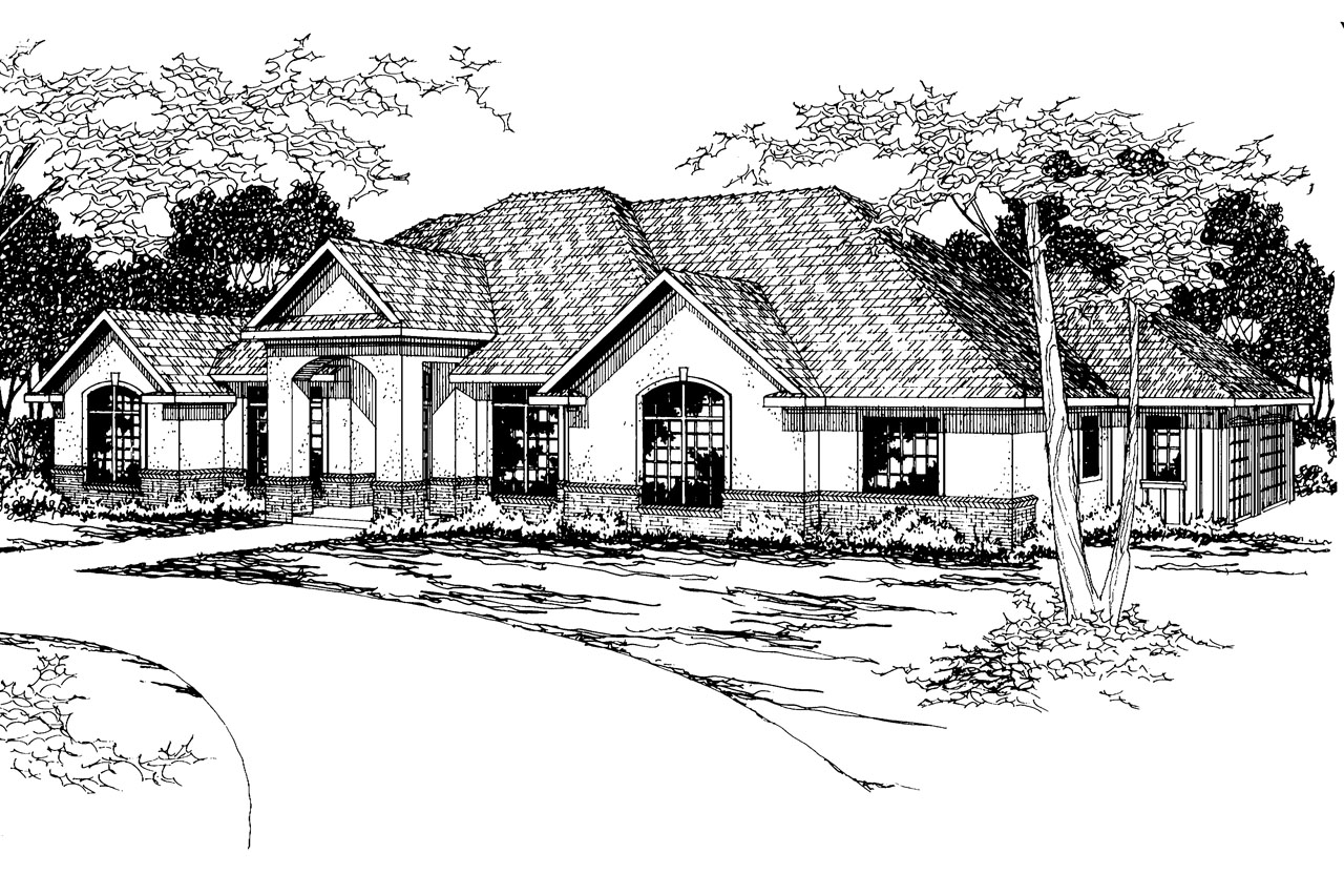 Southwest house plans barstow 30 050 associated designs for Southwest house designs