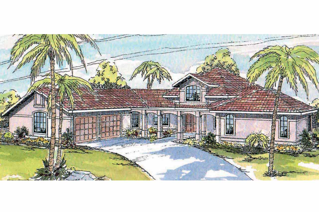 Southwest house plans solano 11 005 associated designs for Southwest home designs