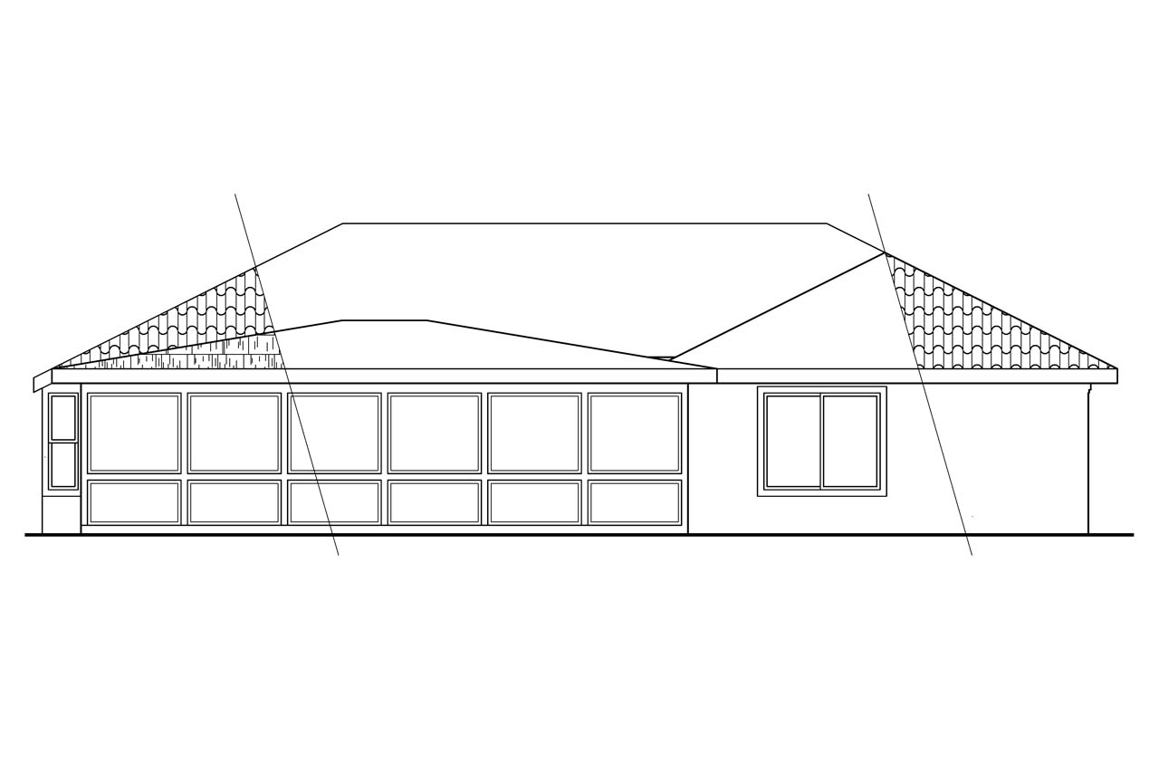 Elevation Plan In Spanish : Mediterranean house plans camille associated