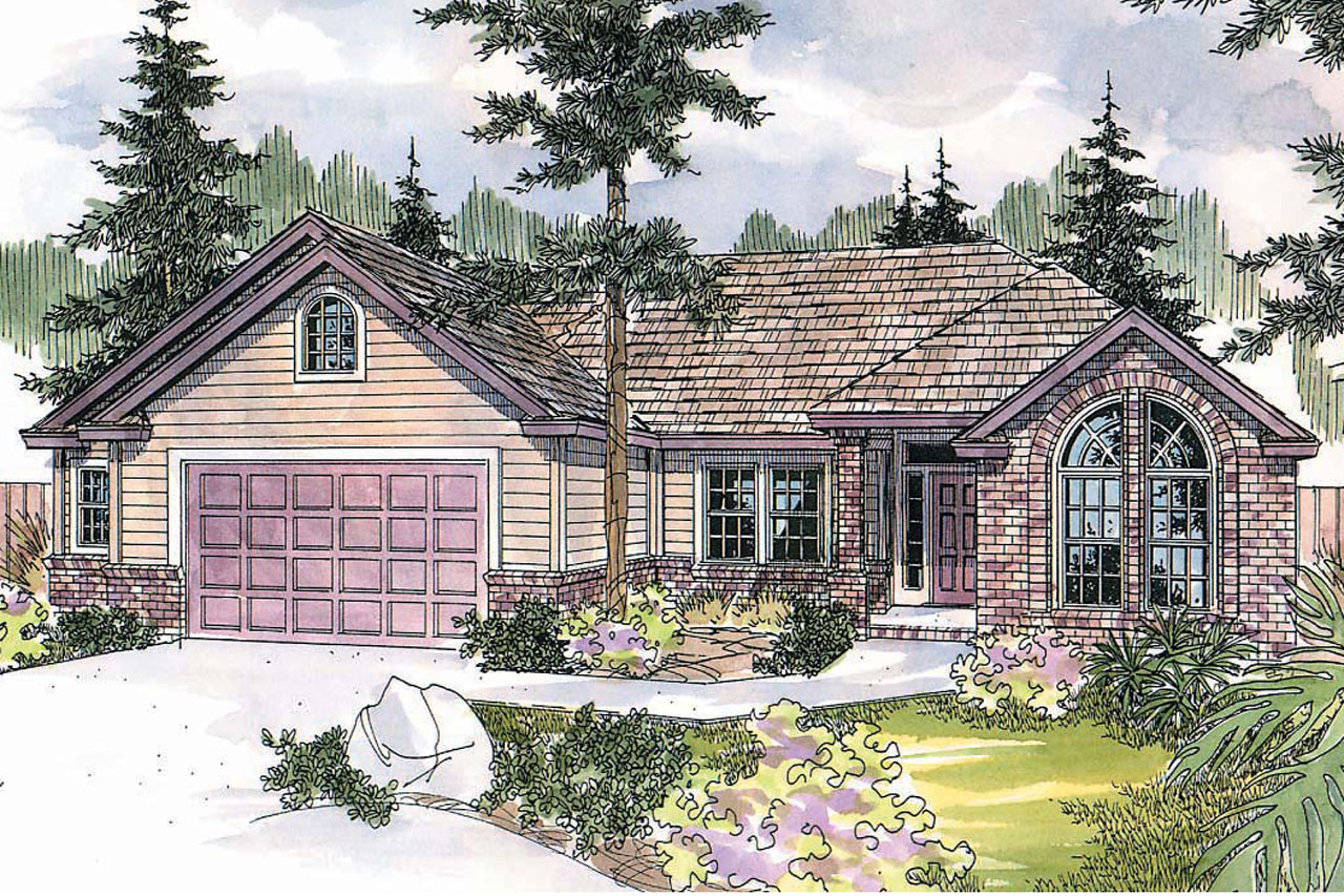 Traditional House Plans Anderson 30 467 Associated Designs