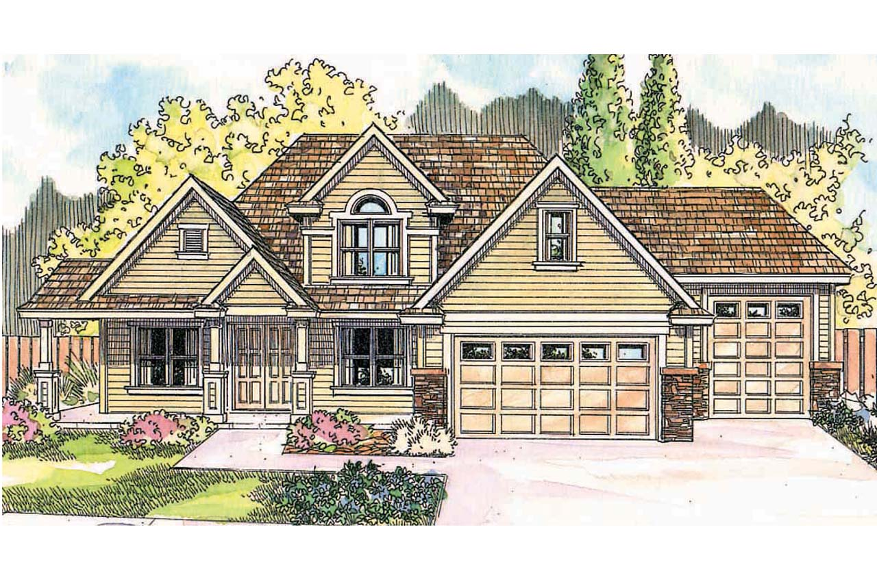 Front Elevation Traditional : Traditional house plans claredon associated designs