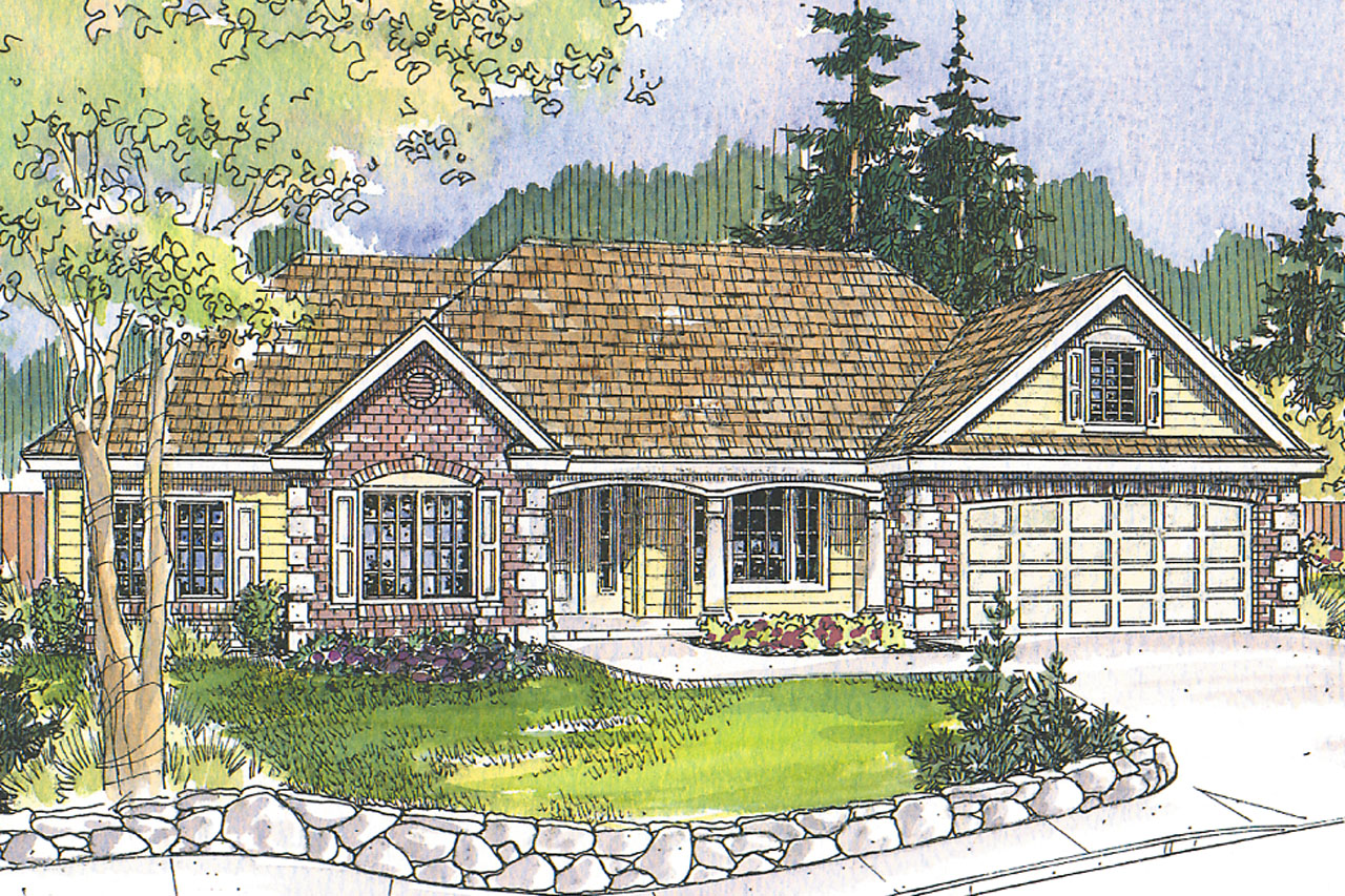 Traditional House Front Elevation : Traditional house plans davidson associated designs