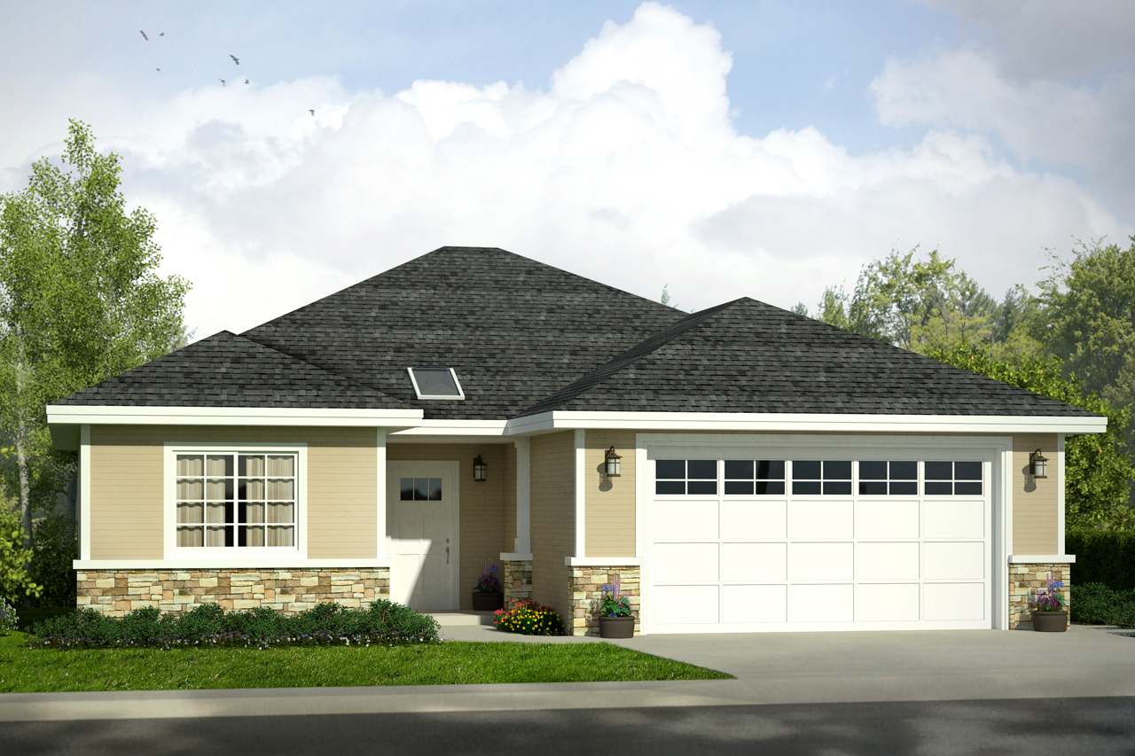 Front Elevation Traditional : Traditional house plans ferndale associated designs