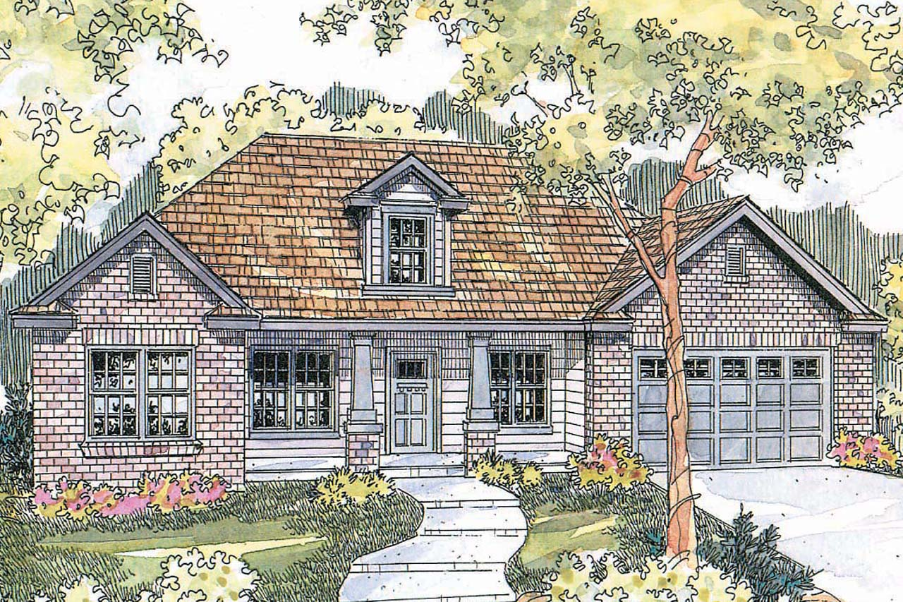 Front Elevation Traditional : Traditional house plans hennebery associated