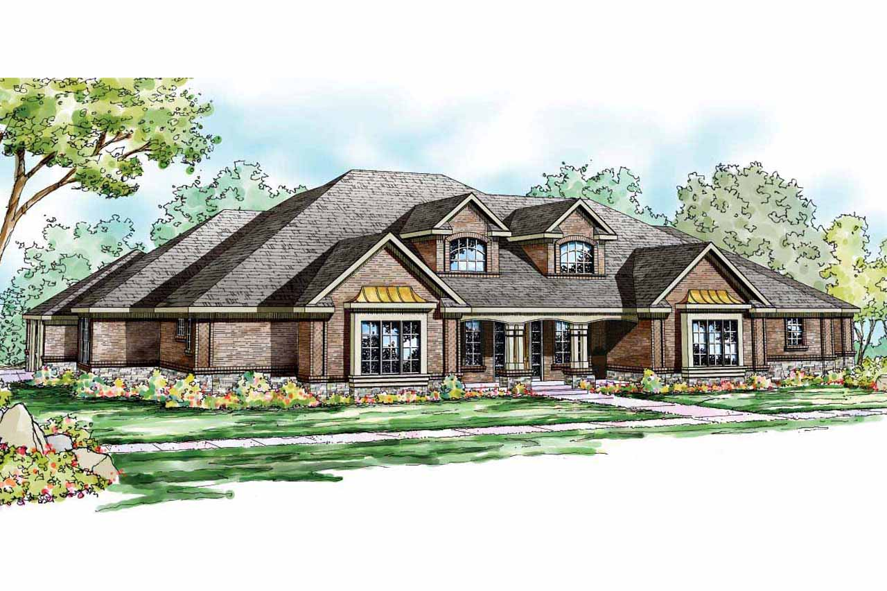 Traditional house plans monticello 30 734 associated for Traditional farmhouse plans