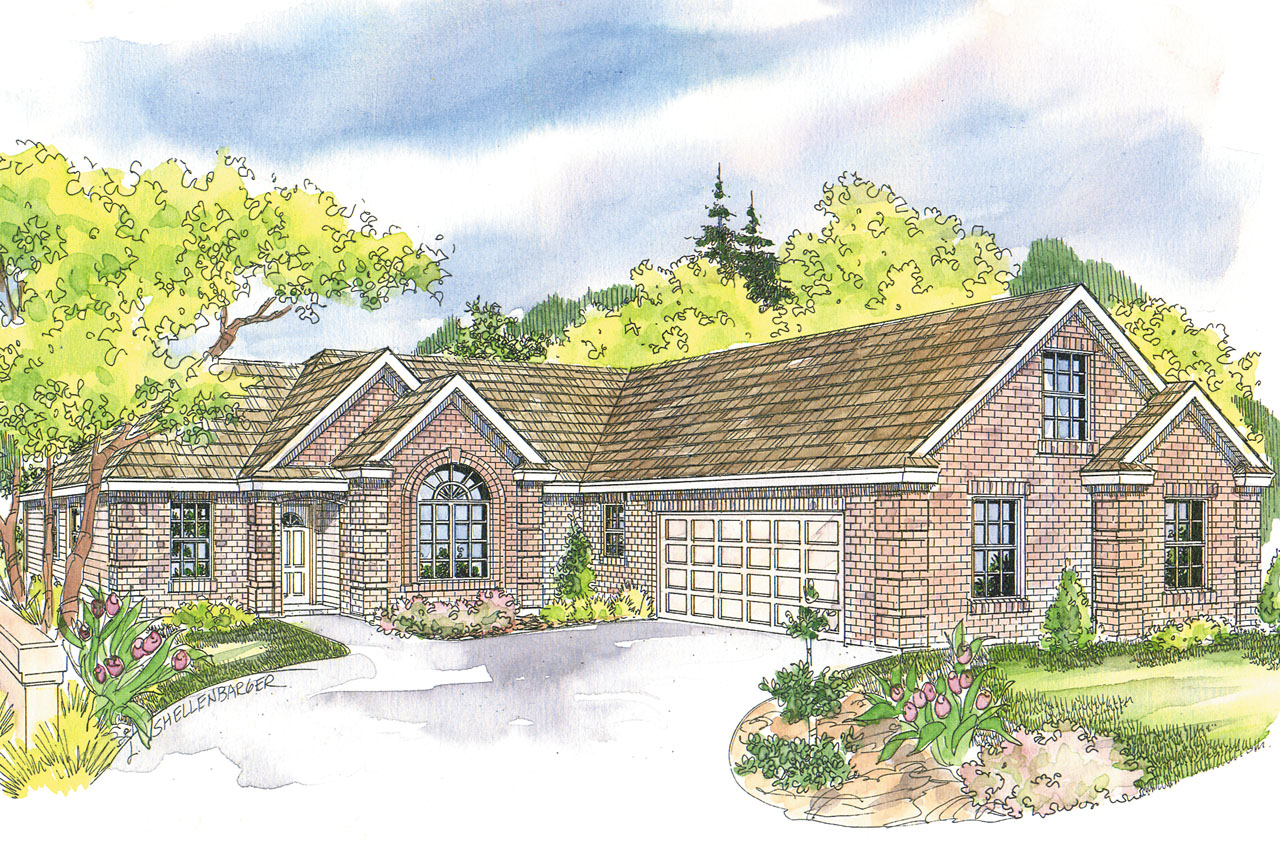 Traditional House Front Elevation : Traditional house plans willcox associated designs