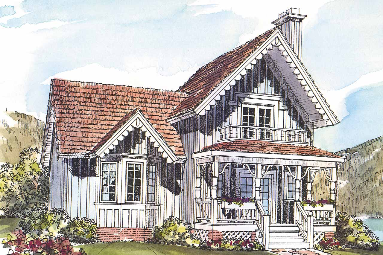 Victorian House Plans - Victorian Home Plans - ssociated Designs - ^