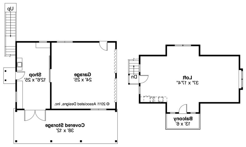 cool garage floor plans with loft elwood