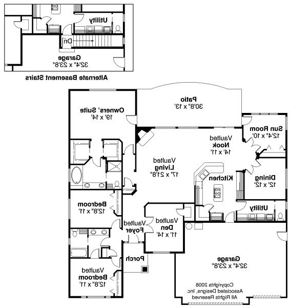 Ranch house plans ryland 30 336 associated designs for Ryland homes floor plans