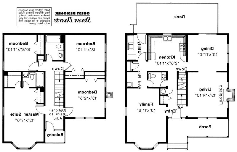 Astoria 41-009 - Victorian House Plans - Associated Designs