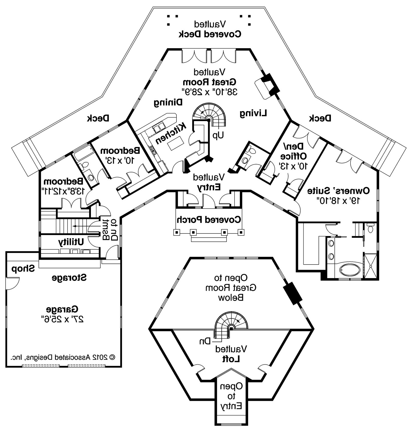 Small Hexagon House Plans Moniezja Lovely Octagon Home