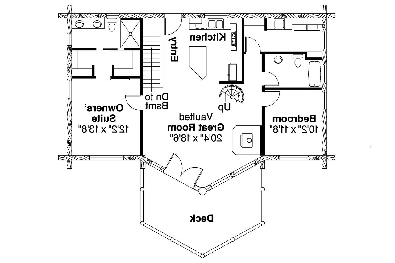 a frame house plan eagle rock 30 919 first floor plan